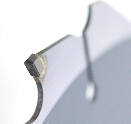 外装デンマルVダイヤ硬質窯業系サイディング用のオールダイヤチップソーの刃先