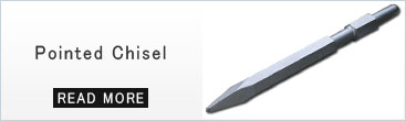 Bull Point Chisel for Demolition Hammers