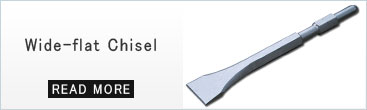 wide flat chisel  Scaling Chisel for Demolition Hammers