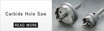 Carbide hole saw