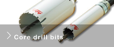 Core drill bits list
