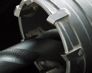 Z軸(sdsプラス)配管コアドリルの刃先
