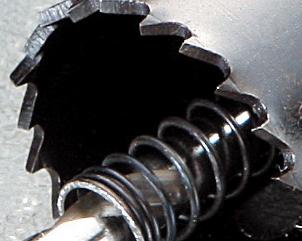 バイメタルホールソーJ型の刃先